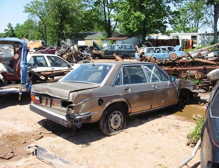 Audi 100 Typ 43 Gallery Junkyard Www Audi100 De
