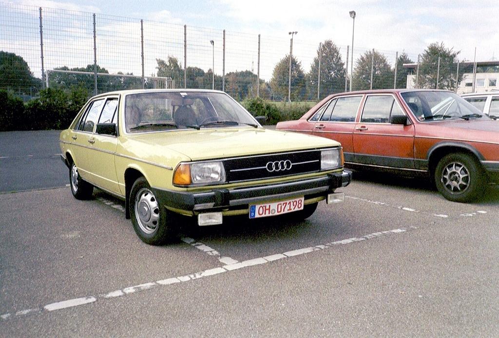 Audi 100 Typ 43 Meetings September 2002 Www Audi100 De
