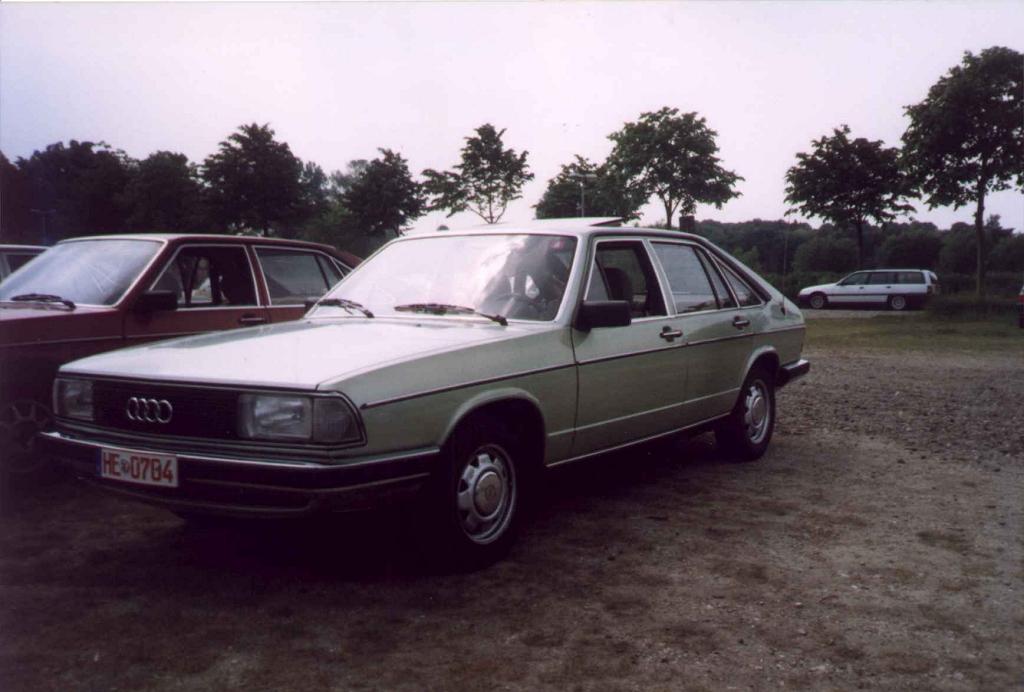 Audi 100 Typ 43 Meetings Juni 2003 Www Audi100 De